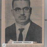 164 - ALEXANDRE PORTELLA NASC. 16 08 1927 FALEC. 04 03 2006
