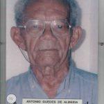 181 - ANTONIO GUEDES DE ALMEIDA NASC. 22 08 1923 FALEC. 09 03 2008